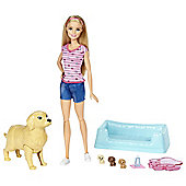 Barbie Newborn Pups Playset