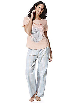 Me To You Tatty Teddy Happiness Slogan Pyjamas - Multi