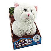 Zookiez 30cm Soft Toy - White Cat