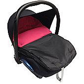 Car Seat Footmuff To Fit Silver Cross Dark Pink