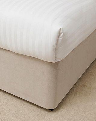 Belledorm 15 Inch Linen Bed Base Wrap - Super King