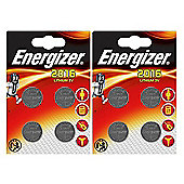 8 x Energizer CR2016 3V Lithium Coin Cell Battery 2016