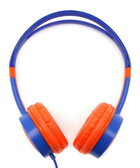 Urbanz Vibe Light-Weight Headphones - Orange