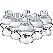 Tommee Tippee Closer to Nature 150ml x 6 Bottles 0m+