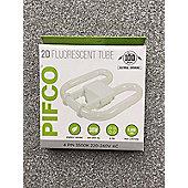 Pifco 2D Fluorescent 38W 4PIN Tube Light Energy Saving Tube Light 3500K