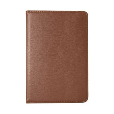 iPad Mini 1 / 2 / 3 PU Faux Leather Smart Flip Over Cover Case - Brown