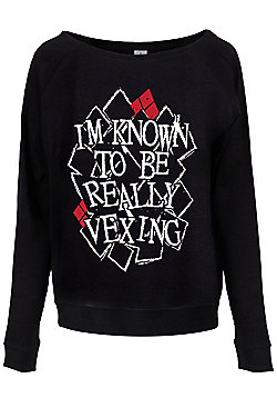I'm Known To Be Really Vexing Women's Sweater, Black. - Black