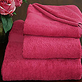 Homescapes Turkish Cotton Raspberry Face Towel