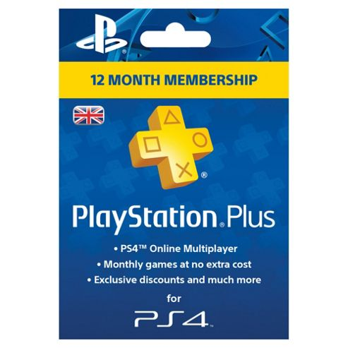 buy playstation plus card 1 year subscription from our points cards subscriptions range tesco. Black Bedroom Furniture Sets. Home Design Ideas
