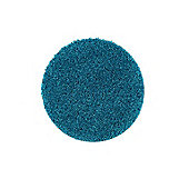 Buddy Washable Shaggy Stain Free 100 Circle Teal