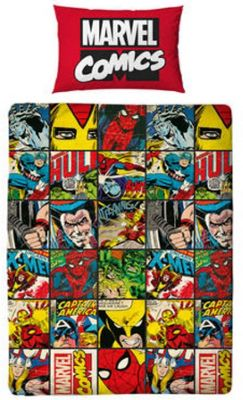 Marvel Avengers Single Bedding Bundle - Includes Inserts