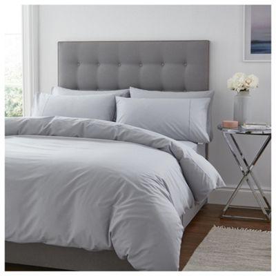 Silentnight 100% Cotton Single Duvet Grey