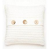 Catherine Lansfield Home Chunky Knit Cushion Cover (45x45cm) - Polar