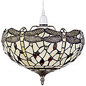 Tiffany Easy Fit Dragonfly Uplighter Ceiling Light