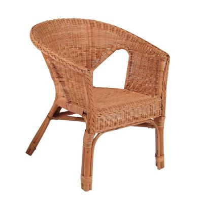 Desser Loom Occasional Chair - Honey