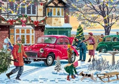 December Shopping - 500pc Puzzle