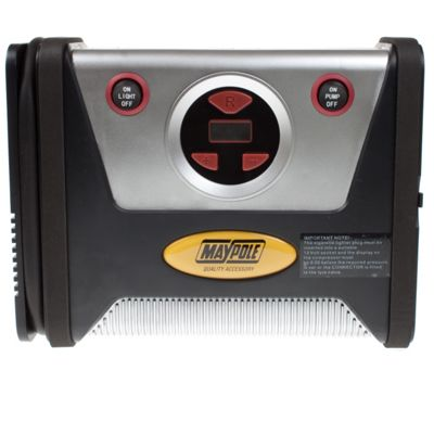 Rapid 12V Air Compressor, Digital Display