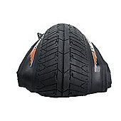 "KHE Folding BMX Tyre Premium MAC1.5 Street 20"" x 1.9 - Black"