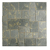 The Real Paving Company Cotswold Paving Random Patio Kit 5.76 Sqm Antique