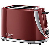 Russell Hobbs 21411 Mode 2 Slice Toaster - Red
