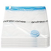 Andrew James 8 Piece Vacuum Storage Bags