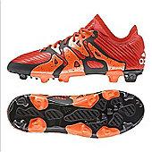 adidas X 15.1 Firm Ground / AG Junior Football Boots - Orange - Orange