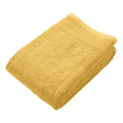 Homescapes Ochre Supreme Luxury Jumbo Towel 700 GSM Egyptian Cotton, 95 x 180 cm