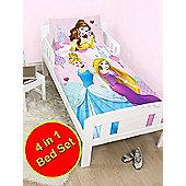 Disney Princess Enchanting 4 in 1 Junior Bedding Bundle