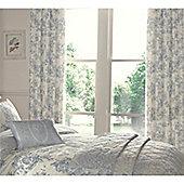 Dreams n Drapes Malton Blue Thermal Lined Curtains - 168x183cm