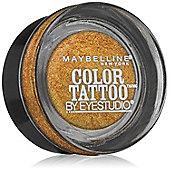 Maybelline Color Tattoo 24hr Eyeshadow 4g - 65 Gold Rush