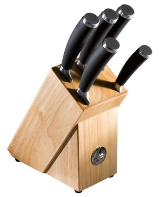 Raymond Blanc 6 Piece Knife Block Set
