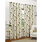 Hamilton McBride April Eyelet Lined Curtains - Green