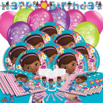 Doc McStuffins Deluxe Party Pack for 16