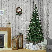 Noma - 7ft Bowmore Pine Pre-Lit 1-2-3 Artificial Christmas Tree