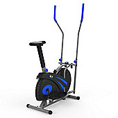 RevXtreme Old Skool 2.0 Cross trainer and Exercise Bike 2 in 1 Blue