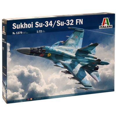 ITALERI 1379 Sukhoi SU-34 Fullback 1:72 Aircraft Model Kit