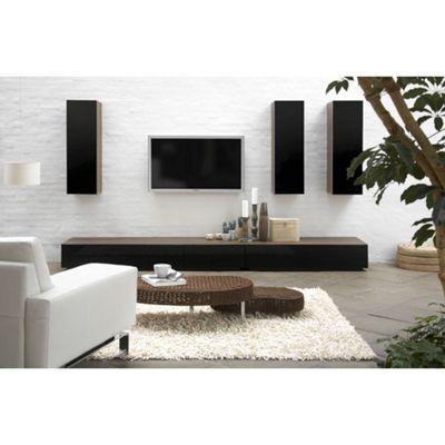 Tvilum Monaco Combination 36 Wooden TV Stand - Dark Walnut
