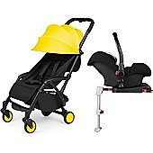 ickle bubba Aurora Isofix Travel System (Yellow)