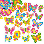 Butterfly Foam Stickers (Pack of 102)