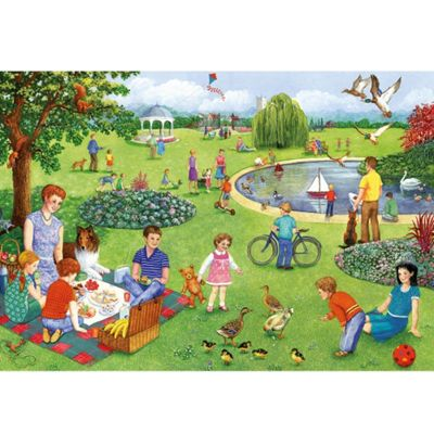 Picnic Outing - XXL 100 Puzzle