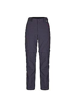 Regatta Ladies Chaska Zip Off Trousers - Grey
