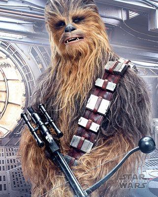 Star Wars The Last Jedi Chewbacca Bowcaster Mini Poster 40x50cm