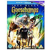 Goosebumps 3D Blu-ray