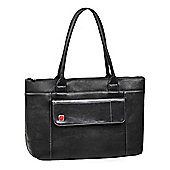 "Rivacase 8991 (PU) Lady's Laptop Bag 15.6"" Black Large"