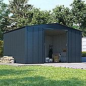 8x10 BillyOh Partner Top Shed Heavy-Duty Galvanised Steel Metal Garden Apex Storage Unit - 8ftx10ft