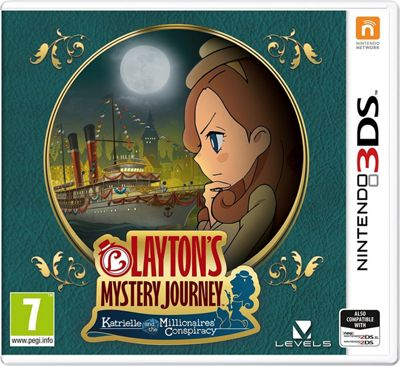 Layton's Mystery Journey: Katrielle and the Millionaries Conspiracy 3DS