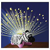 Pillow Pets Dream Lite Zippity Zebra Night Light