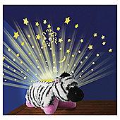 Pillow Pets Dream Lite Zippity Zebra Night Light