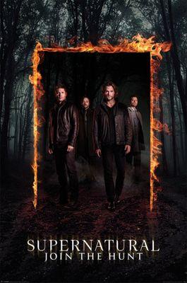 Supernatural Burning Gate Poster 61 x 91.5cm