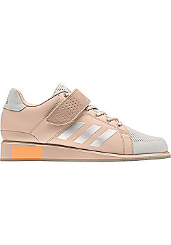 adidas Power Perfect III Womens Adult Weightlifting Powerlifting Shoe Pink/Pearl - Pink